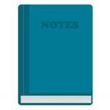 błękitny notatki ilustracji