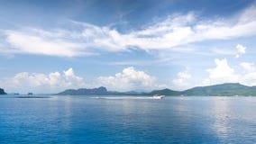 błękitny ocean Fotografia Stock
