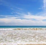 błękitny ocean niebo Zdjęcia Stock