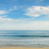 błękitny ocean niebo Obraz Stock
