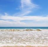 błękitny ocean niebo Obraz Royalty Free