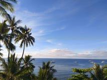 błękitny ocean niebo zdjęcia royalty free