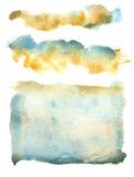 Błękitny ocher ilustracji
