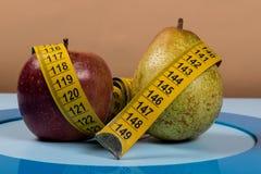 Błękitny okrąg z niektóre cukrzyc wyposażeniem robi traktowaniu choroba obraz stock