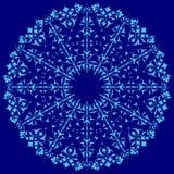 Błękitny orientalny ottoman projekt trzydzieści cztery Royalty Ilustracja