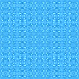 błękitny ornamentu wzór Obraz Stock