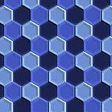 błękitny płytki Zdjęcie Royalty Free