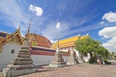 błękitny pagodowy niebo Zdjęcia Royalty Free