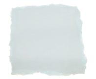 błękitny papierowy świstek Zdjęcia Royalty Free