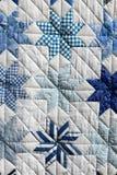 Błękitny patchwork Obraz Stock