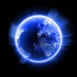 błękitny planeta ilustracji