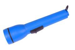 błękitny plastikowa pochodnia zdjęcia stock