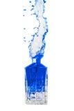 Błękitny pluśnięcie Obrazy Stock