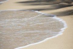 Błękitny pokojowy ocean Hawaje Kahala 007 Obrazy Royalty Free
