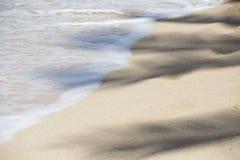 Błękitny pokojowy ocean Hawaje Kahala 003 Zdjęcie Stock