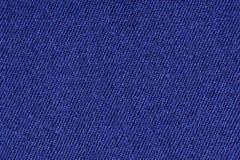 Błękitny poliestrowy tkaniny tekstury tło, zamyka up Obrazy Stock