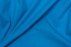 Błękitny polo koszula wzór Obraz Royalty Free