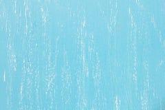 Błękitny porysowany biurko tekstury tło Zdjęcia Stock