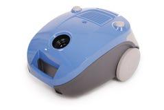 Błękitny próżniowy cleaner (ścinek ścieżka) Zdjęcia Royalty Free