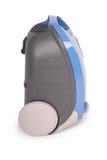 Błękitny próżniowy cleaner (ścinek ścieżka) Fotografia Royalty Free