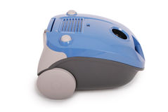 Błękitny próżniowy cleaner (ścinek ścieżka) Zdjęcie Royalty Free