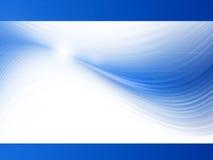 błękitny prezentacja Fotografia Stock