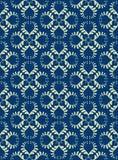błękitny projekta królewska tkanina Zdjęcie Stock