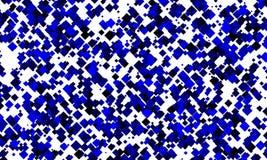 błękitny przypadkowi kwadraty Obrazy Stock
