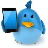 Błękitny ptak ilustracji
