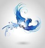 Błękitny ptak royalty ilustracja