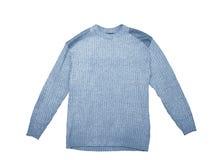 błękitny pulower Obrazy Stock