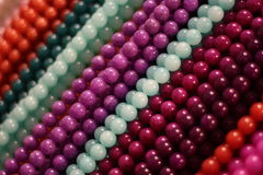 błękitny purpur kamienia sznurki Obrazy Royalty Free