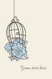 błękitny róże Fotografia Stock