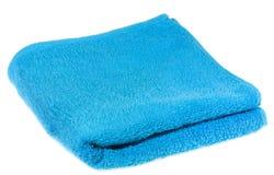 błękitny ręcznik Obrazy Stock