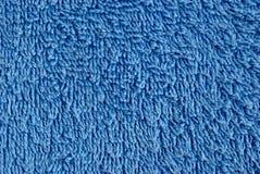 Błękitny ręcznik Obrazy Royalty Free
