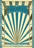 błękitny rocznik Obrazy Royalty Free