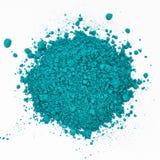 Błękitny rozrzucony kosmetyk Obrazy Stock