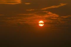 Błękitny słońce jest tajny Fotografia Royalty Free