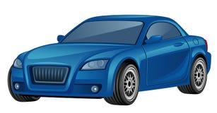 błękitny samochód Obrazy Royalty Free
