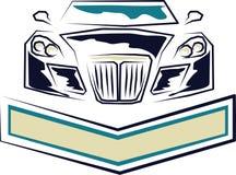 błękitny samochód zdjęcia royalty free