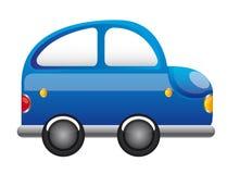 błękitny samochodowa kreskówka ilustracja wektor