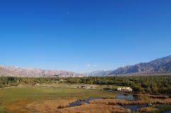 błękitny sceniczny niebo Obrazy Royalty Free