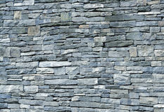 błękitny schist kamienna ściana Obraz Royalty Free