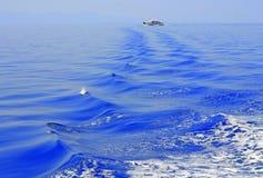 Błękitny sen statku morze Zdjęcie Royalty Free