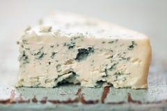 błękitny sera miękka część Fotografia Stock