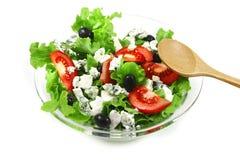 błękitny sera zielona sałatka Obraz Stock