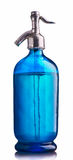 błękitny siphon rocznika woda Zdjęcia Stock