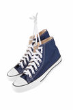 błękitny sneakers Obrazy Stock