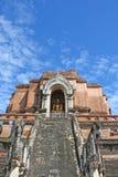 błękitny stary pagodowy niebo Fotografia Royalty Free