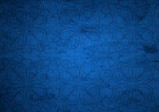 Błękitny stary roczników bożych narodzeń papier Fotografia Royalty Free